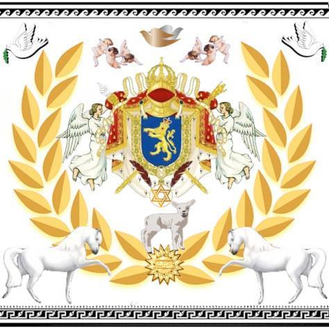 The Coat of Arms of Votre Altesse Prince Jose Maria Chavira MS Nome de Plume JCANGELCRAFT